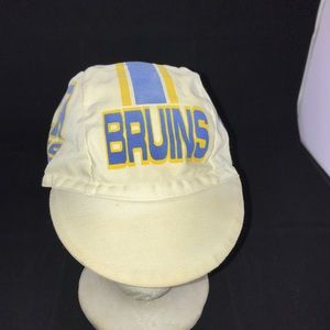 Vintage 80's UCLA cycling bicycle hat